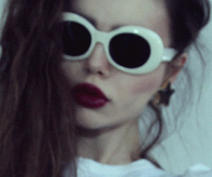 grunge, pale, and sunglasses image