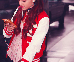 ariana grande and red image