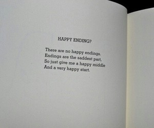 books, ending, and middle image