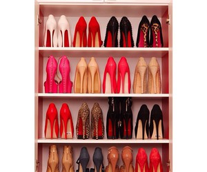 high heels, shoes, and love image