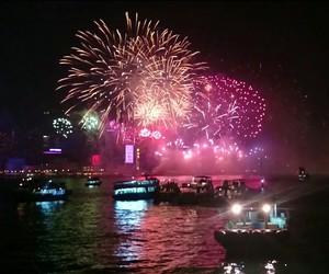 happy new year, hong kong, and 2015 image