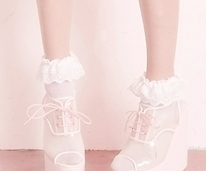 shoes and pastel image