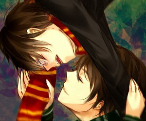 harry potter, tom riddle, and anime version image