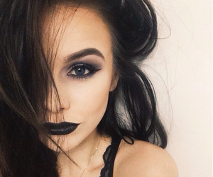 grunge, acacia brinley, and black image
