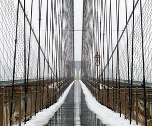 brooklyn bridge, leica, and manhattan image