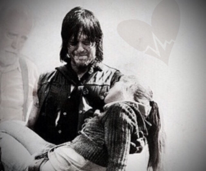 cry, norman reedus, and walking dead image
