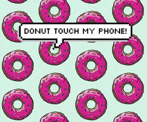donuts, wallpaper, and phone image