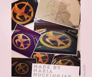 katniss, mockingjay, and thg image