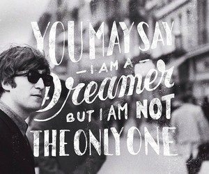 imagine, john lennon, and dreamer image