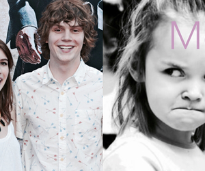 evan peters, american horror story, and angry image