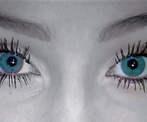 eyes, blue, and cute image