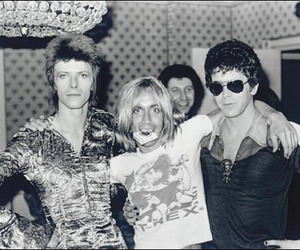 70's, david bowie, and iggy pop image