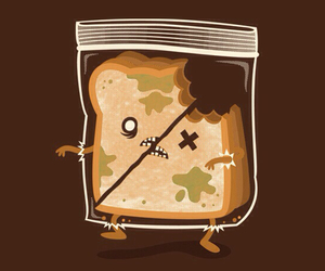sandwich and zombie image