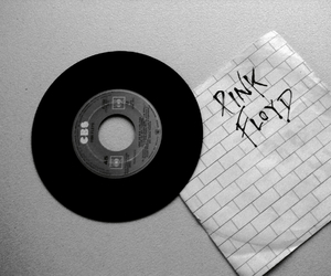 bands, Pink Floyd, and black and white image