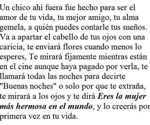 amor, chico, and espanol image
