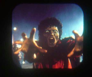 michael jackson, thriller, and 80s image