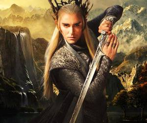 thranduil, lee pace, and elf image