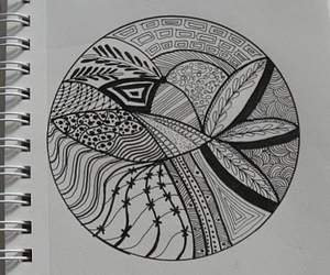 art, doodle, and love image