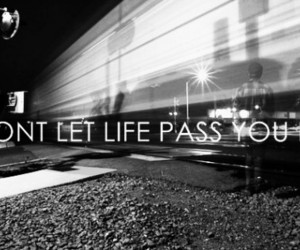 life, quote, and train image