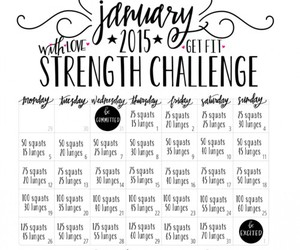 body, challenge, and fitness image