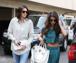 selena gomez and kendall jenner image