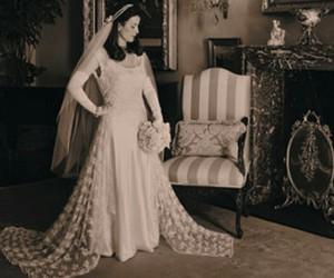 1920s and wedding dress image