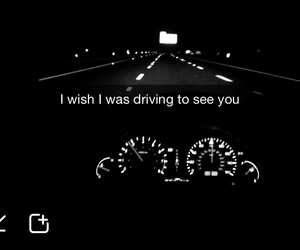 love, car, and dark image