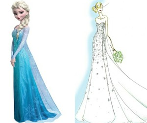 ice, elsa, and frozen image