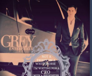 grey, handsome, and succes image