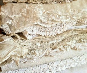 fabric, textiles, and lace image