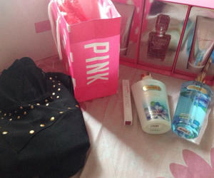 girly, pink, and victoriassecret image