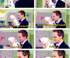 love, baby, and himym image