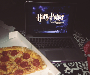 book, food, and harry potter image