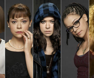 orphan black, helena, and cosima image