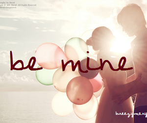 balloons, cute, and be mine image
