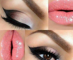 beauty, cosmetics, and maquillaje image