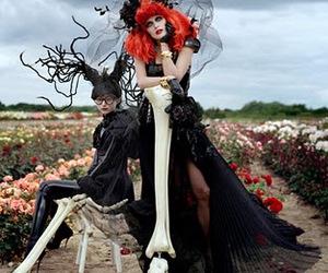 fashion, tim burton, and Halloween image