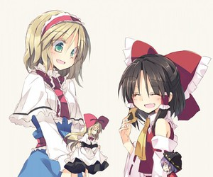 touhou, alice, and anime image