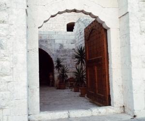 door, travel, and home image