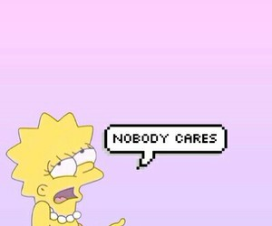 lisa, wallpaper, and nobody cares image
