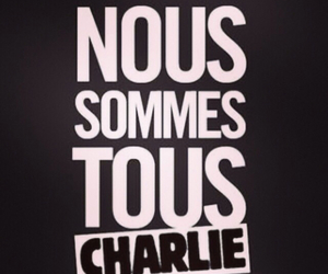 charlie, attentat, and charlie hebdo image