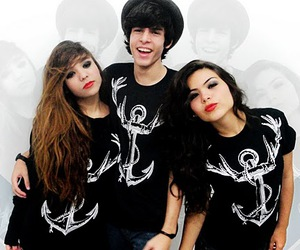 anchor, girl, and guy image