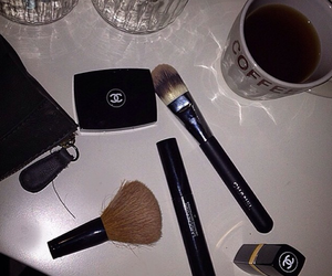 chanel, chanel make up, and girly image