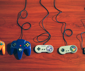 game, control, and video games image