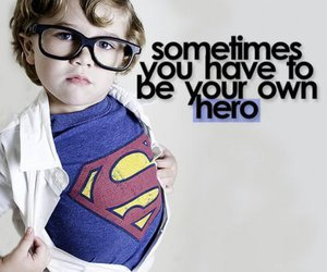 hero, superman, and quote image