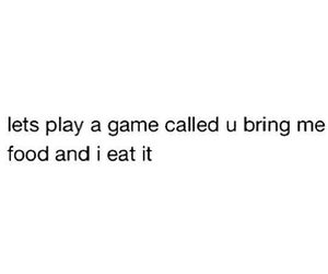 food, game, and eat image