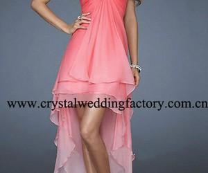 beatiful, dress, and pink image