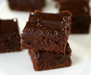 brownies, malted milk, and chocolate image