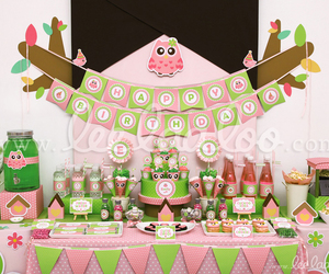 birthday, birthday party, and owl image