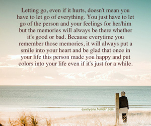 beautiful, let go, and quote image